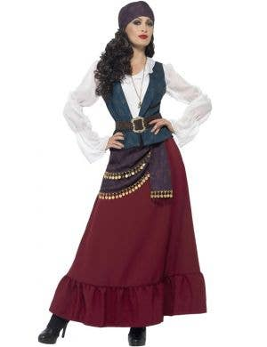 Buccaneer Beauty Deluxe Women's Pirate Fancy Dress Costume