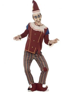 Punch And Judy Men's Evil Puppet Costume Main Image
