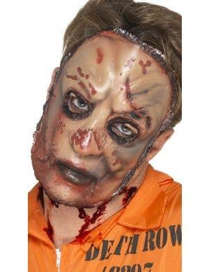 Zombie Flesh Halloween Face Mask Costume Accessory