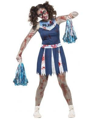 Zombie Cheerleader Teen Girl's Halloween Costume