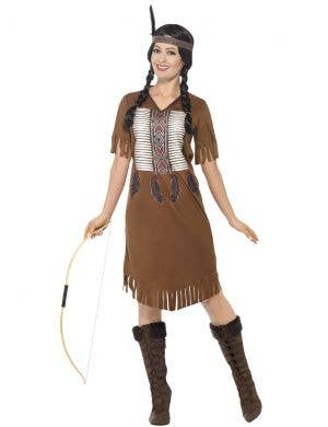 Native Indian Warrior Princess Women's Costume