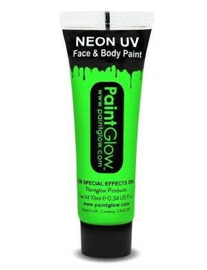 Fluro Green Blacklight Reactive Face and Body Cream Paint Main Image