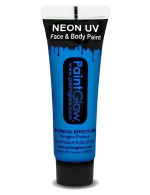 Fluro Blue Blacklight Reactive Face and Body Cream Paint Main Image