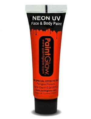 Fluro Red Blacklight Reactive Face and Body Cream Paint Main Image