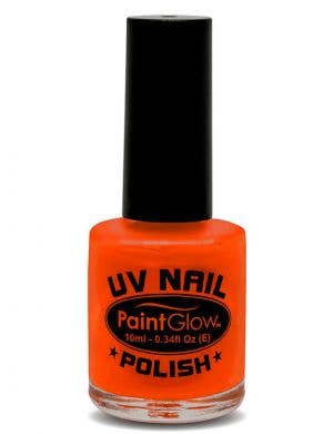 Fluro Red UV Special Effects Nail Polish Alternate Image