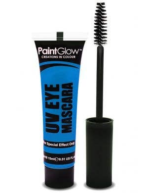 Blacklight Reactive Neon Blue Eyelash Mascara Main Image