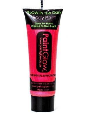 Neon Pink Glow in the Dark Blacklight Reactive Body Paint