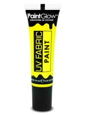 Neon Yellow UV Blacklight Fabric Paint Main Image