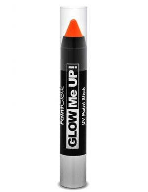 Neon Orange UV Reactive Cream Paint Stick Main Image