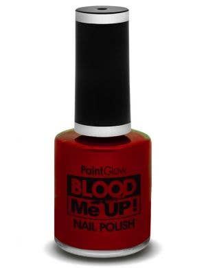 Blood Red Halloween Special Effects Nail Polish Main Image