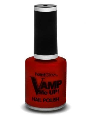 Gothic Red Vamp Me Up Halloween Special Effects Nail Polish Main View