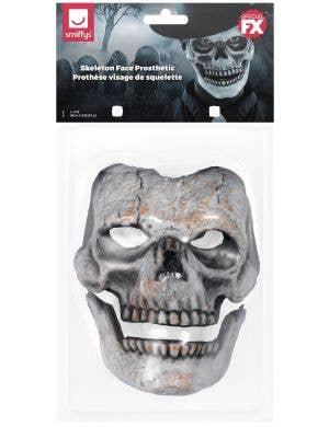 Deluxe Skeleton Face Halloween Prosthetic