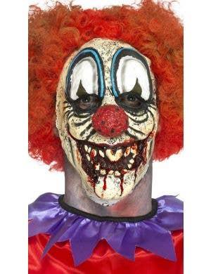 Deluxe Halloween Clown Horror Latex Mask
