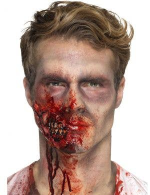 Zombie Jaw Halloween Mouth Prosthetic