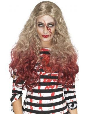 Zombie Deluxe Blood Drip Women's Wig