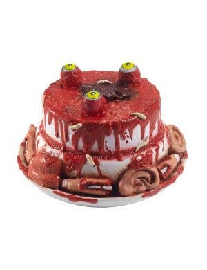 Red And White Tongue And Eyeball Blood Zombie Food Bowl Halloween Prop Decoration Main Image