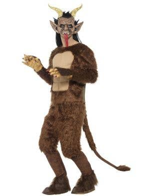 Deluxe Krampus Men's Christmas Fancy Dress Costume