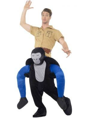 Piggyback Gorilla Adult's Fancy Dress Costume