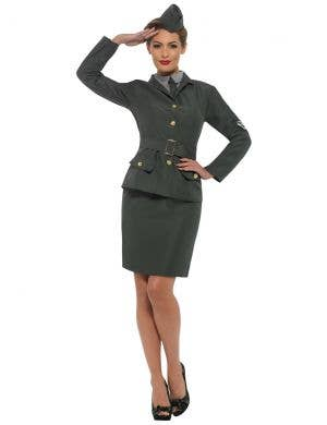 WW2 Army Uniform Women's Costume