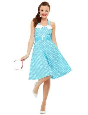 1950's Pin Up Girl Women's Fancy Dress Costume