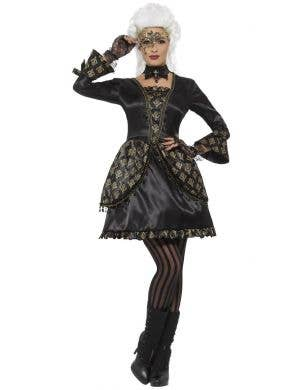Deluxe Masquerade Women's Fancy Dress Costume