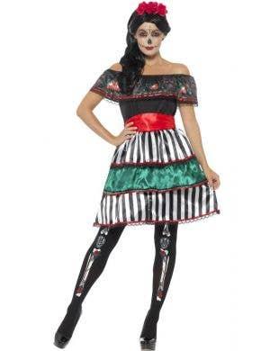 Day Of The Dead Senorita Doll Women's Costume