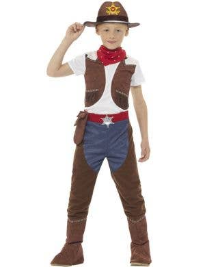 Cowboy Sheriff Boys Book Week Costume