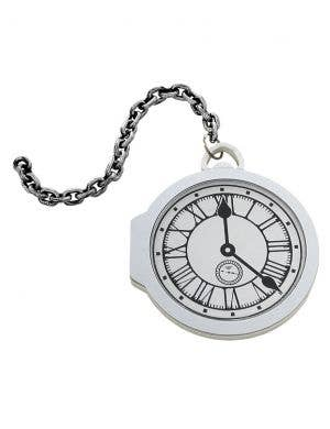 Oversized Pocket Watch White Rabbit Costume Accessory