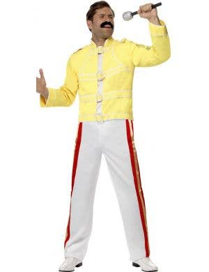 Freddie Mercury Officially Licensed Queen Men's Fancy Dress Costume