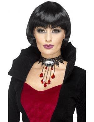Gothic Vamp Deluxe Costume Choker