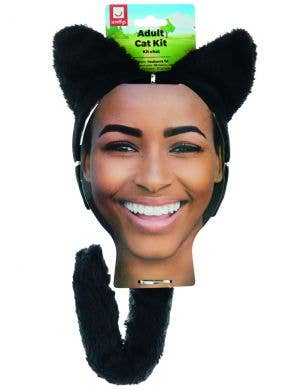 Kitty Black Adult's Cat Costume Accessory Kit