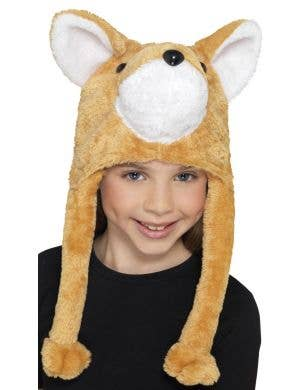 Furry Fox Kids Costume Accessory Hat