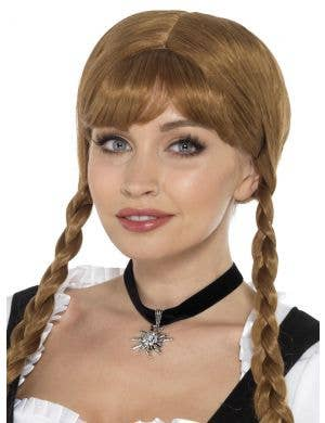Bavarian Fraulein Women's Choker Necklace Costume Accessory