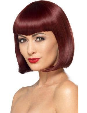 Deluxe Cherry Bob Women's Costume Wig