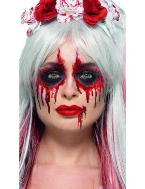 Bloody Bride Halloween Makeup Kit
