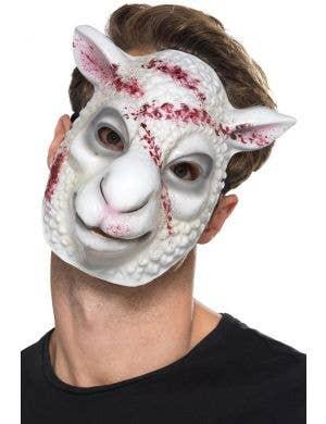 Evil Sheep Halloween Killer Mask