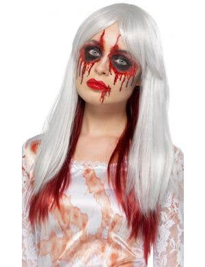 Blood Drip Deluxe Women's Ombre Halloween Wig