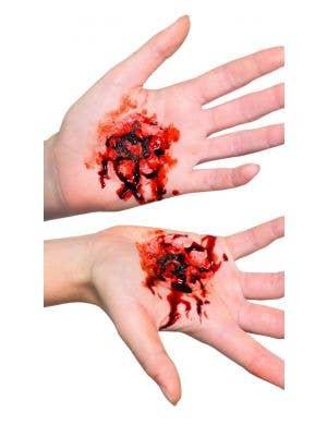 Latex Stigmata Wound Halloween Prosthetic
