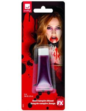 Vampire Blood Red Mini Tube Halloween Special Effects