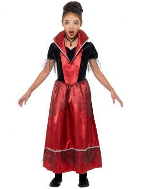 Vampire Princess Girls Halloween Costume