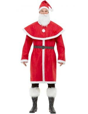 Joyful Santa Claus Men's Fancy Dress Christmas Costume