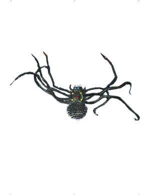 Giant Black Spider Halloween Decoration