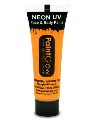 Sunshine Orange Blacklight Reactive Face and Body Cream Paint Main Image