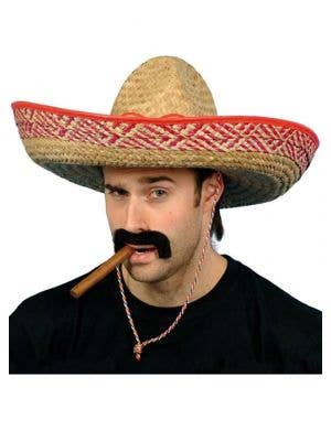 Mexican Sombrero Adult Costume Hat