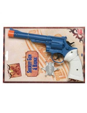 Sheriff Gun and Badge Costume Accessory Set