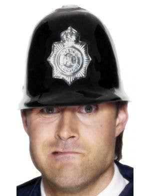 Police Officer Adult's Black Costume Accessory Hat