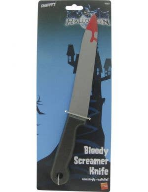 Blood Dipped Screamer Costume Knife