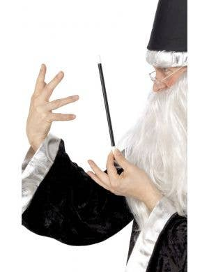 Classic Black Magician Wand Costume Accessory