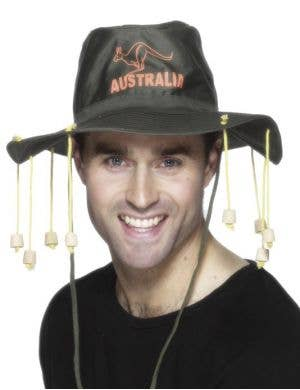 Aussie Hat with Corks Costume Accessory