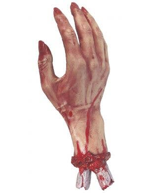 Severed Fake Hand Halloween Costume Prop